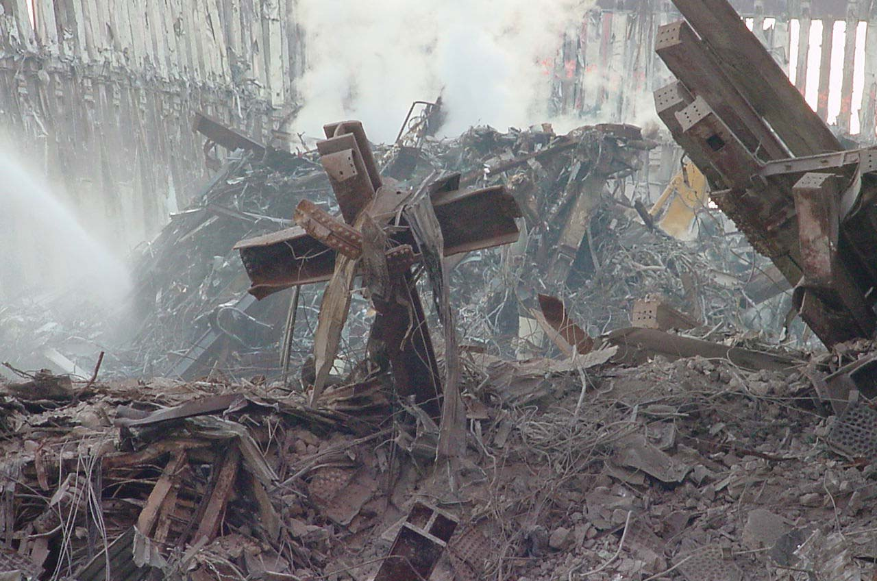 Aftermath of the attacks on the World Trade Center