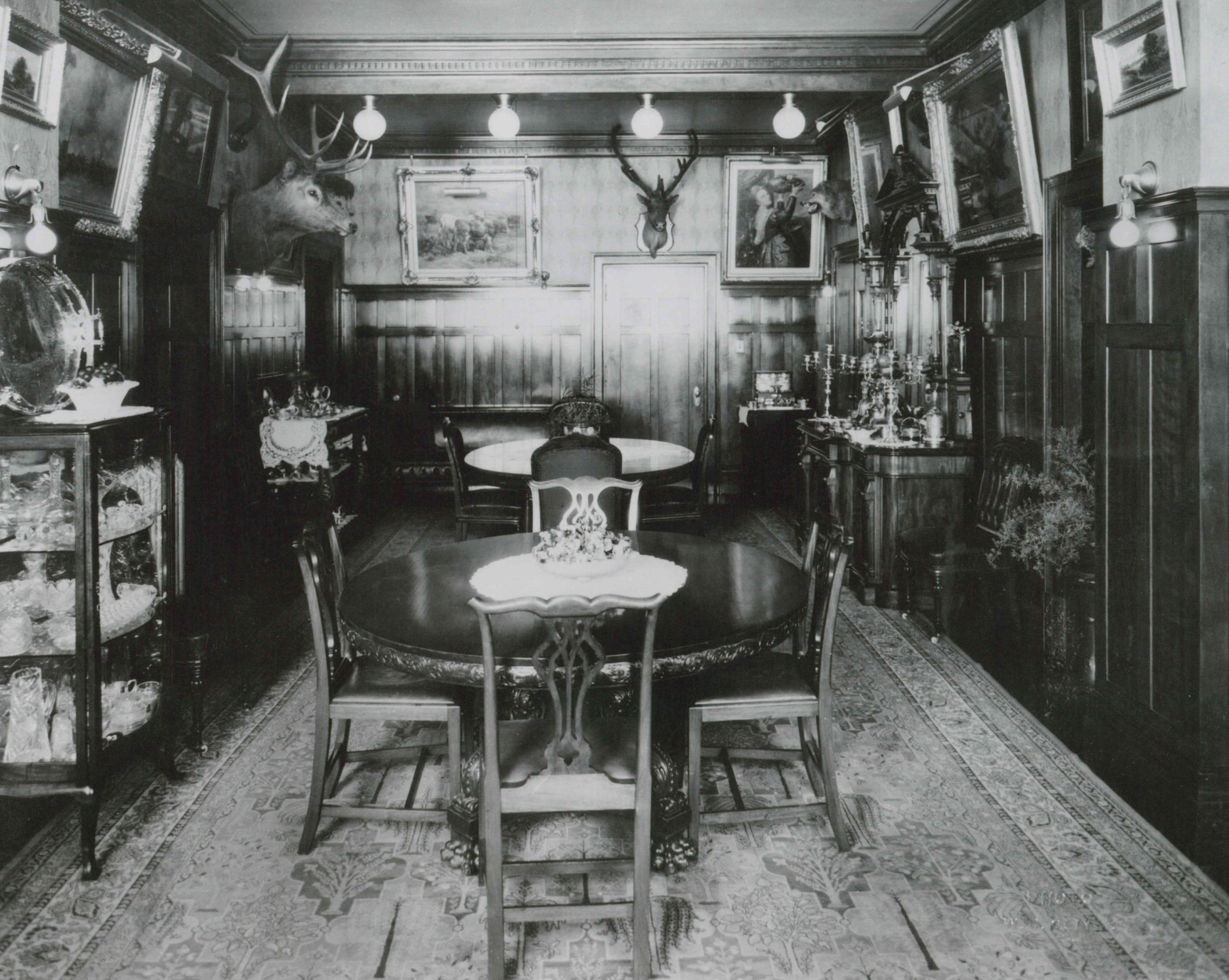Image 4, Dining Room c. 1920's