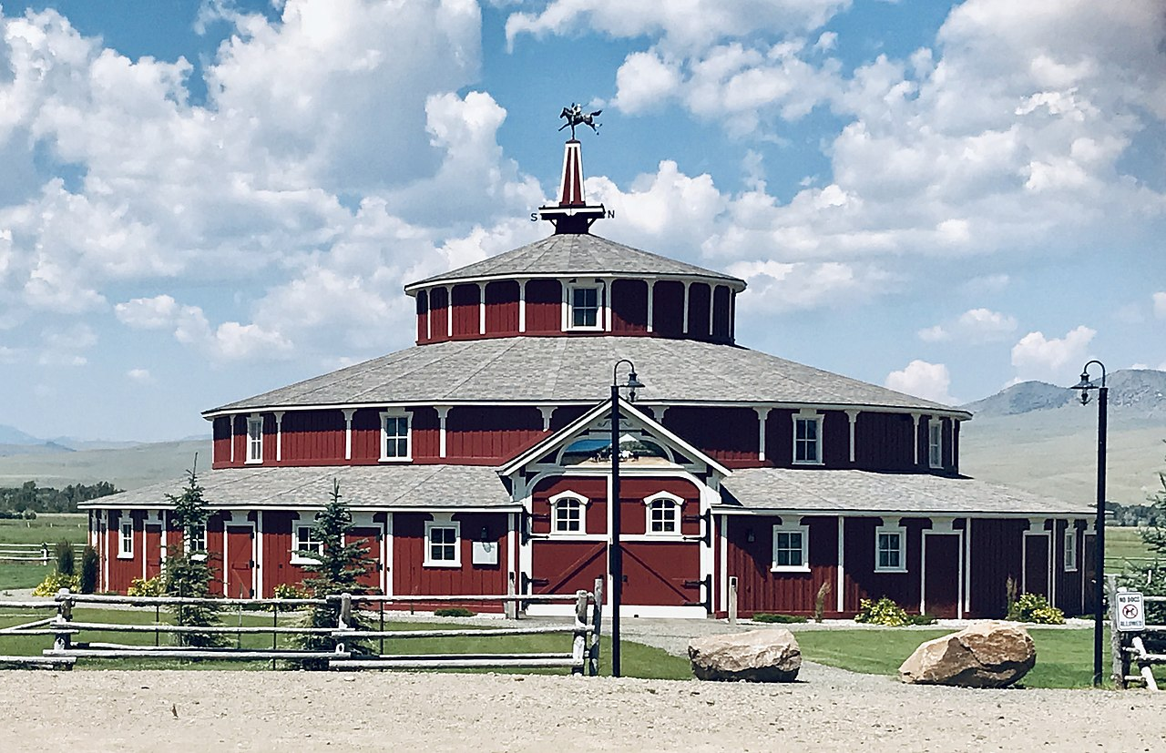 The Doncaster Round Barn was built around 1882 by Noah Armstrong.