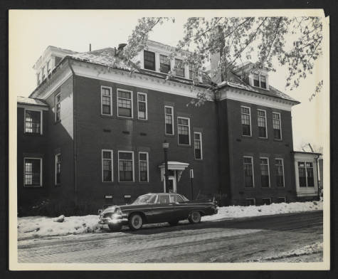 North Building: Interns' Residence at the Corner of Campbell Street and Rural Avenue.