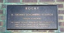 Rocky Sculpture Plaque