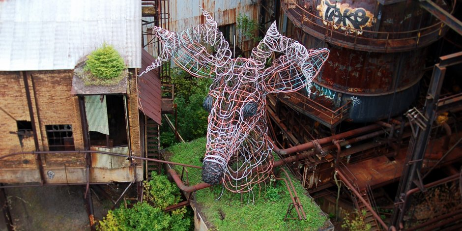 "The Carrie Deer was created by ""guerilla"" artists in the late 1990s and is a popular attraction today."