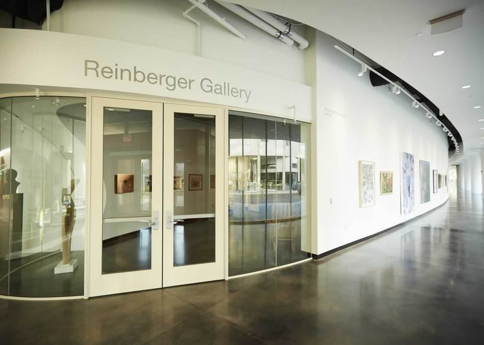 The Reinberger Gallery where many Exhibitions are held at CIA.