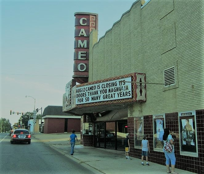 The last day that the Cameo operated as a movie theater.