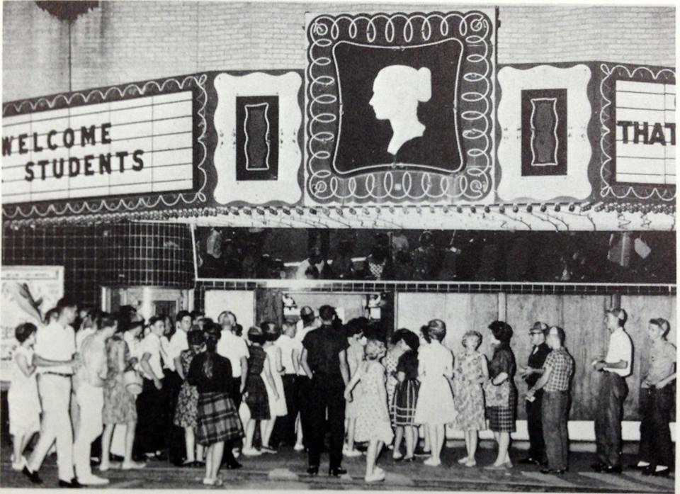 There was always a long line at the Cameo.
