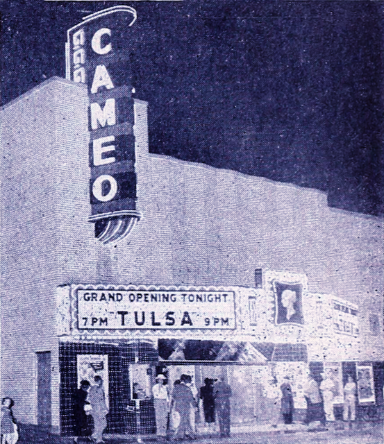Opening night of the Cameo September 8, 1949.