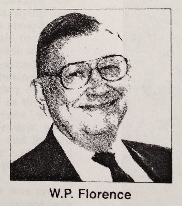 Mr. W.P. Florence, Jr. Owner and long time operated of the Cameo Theatre.