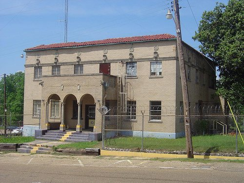 Old Columbia County Jail was built around 1920.