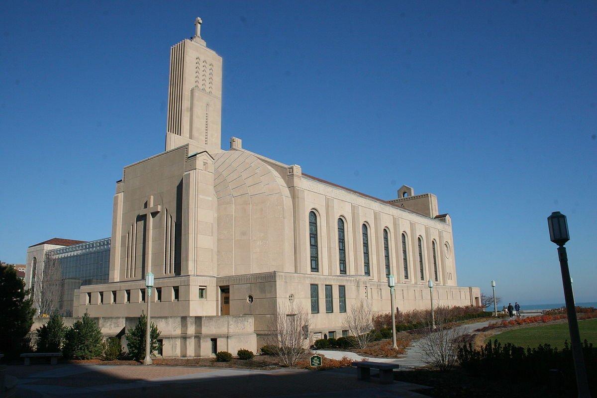 Madonna Della Strada Chapel at Loyola University Chicago.