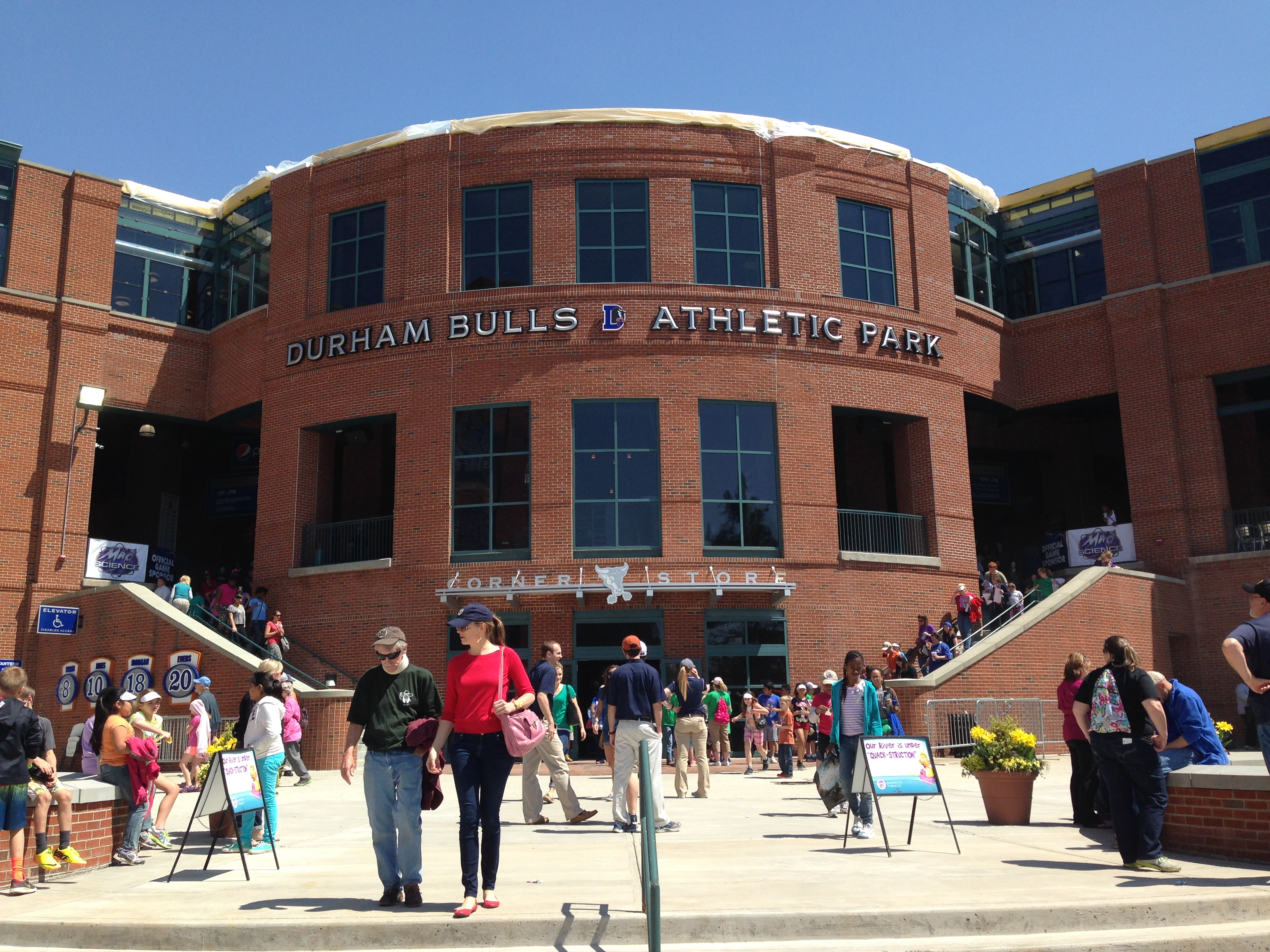 Durham Bulls Athletic Park - Exterior