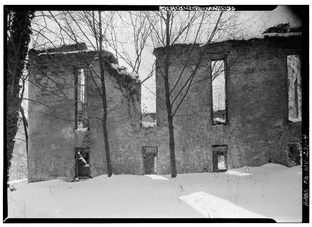 Window, Black, Building, Snow