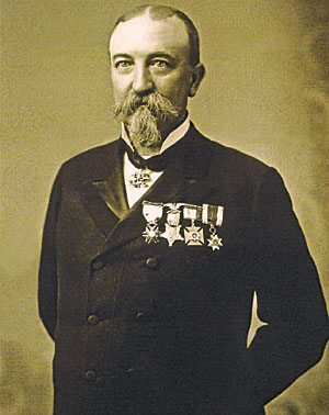 Charles F. Rand (1839-1908). Photo Credit: Holland Land Office Museum