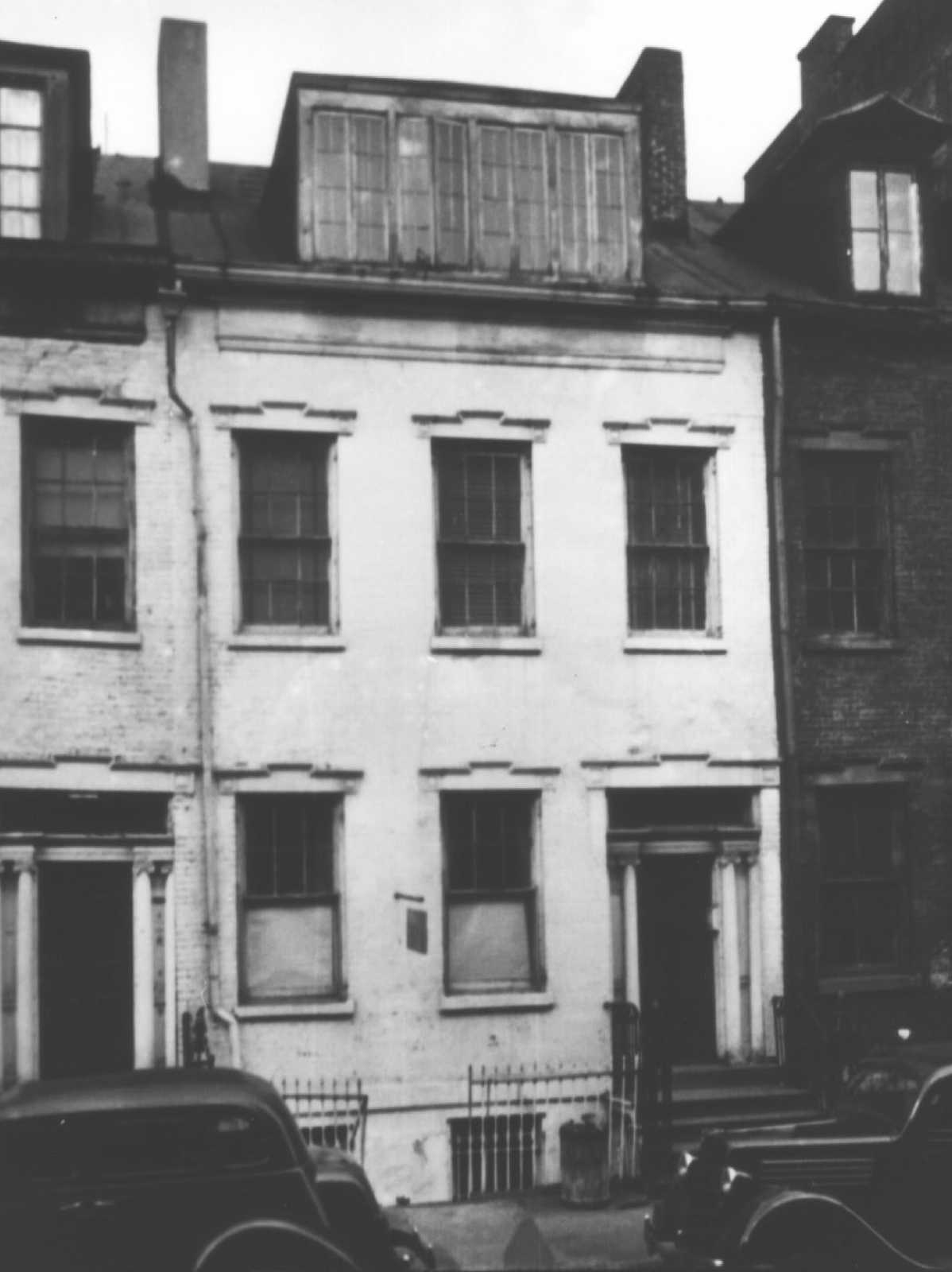 The building as it appeared in the 1930s