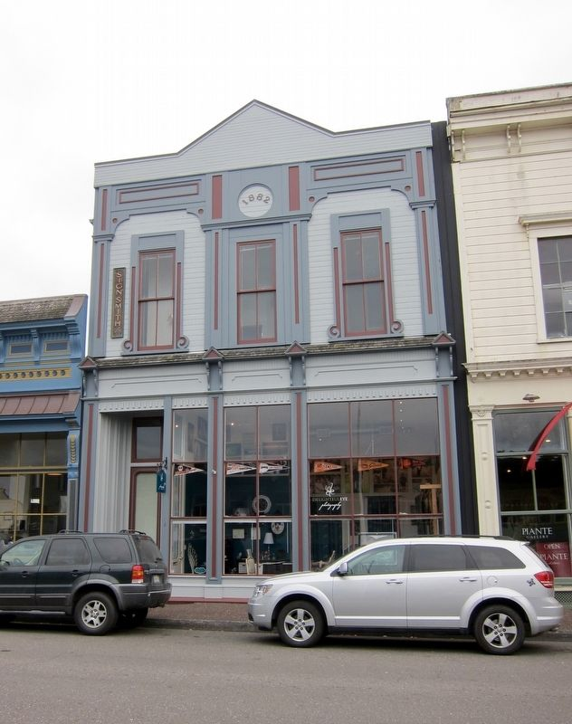 """Eureka's original U.S. Post Office Building later became the """"Sign Smith Building,"""" owned by a local magician."""