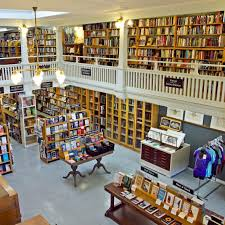 The J. Lowenthal Building is currently home to Eureka Books, established in 1987