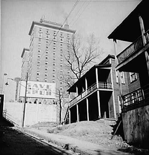 The Andrew Johnson Hotel in 1941.