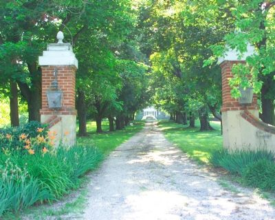 Front gate to the property
