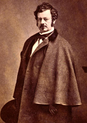 Photo of Edwin Forrest by Matthew Brady
