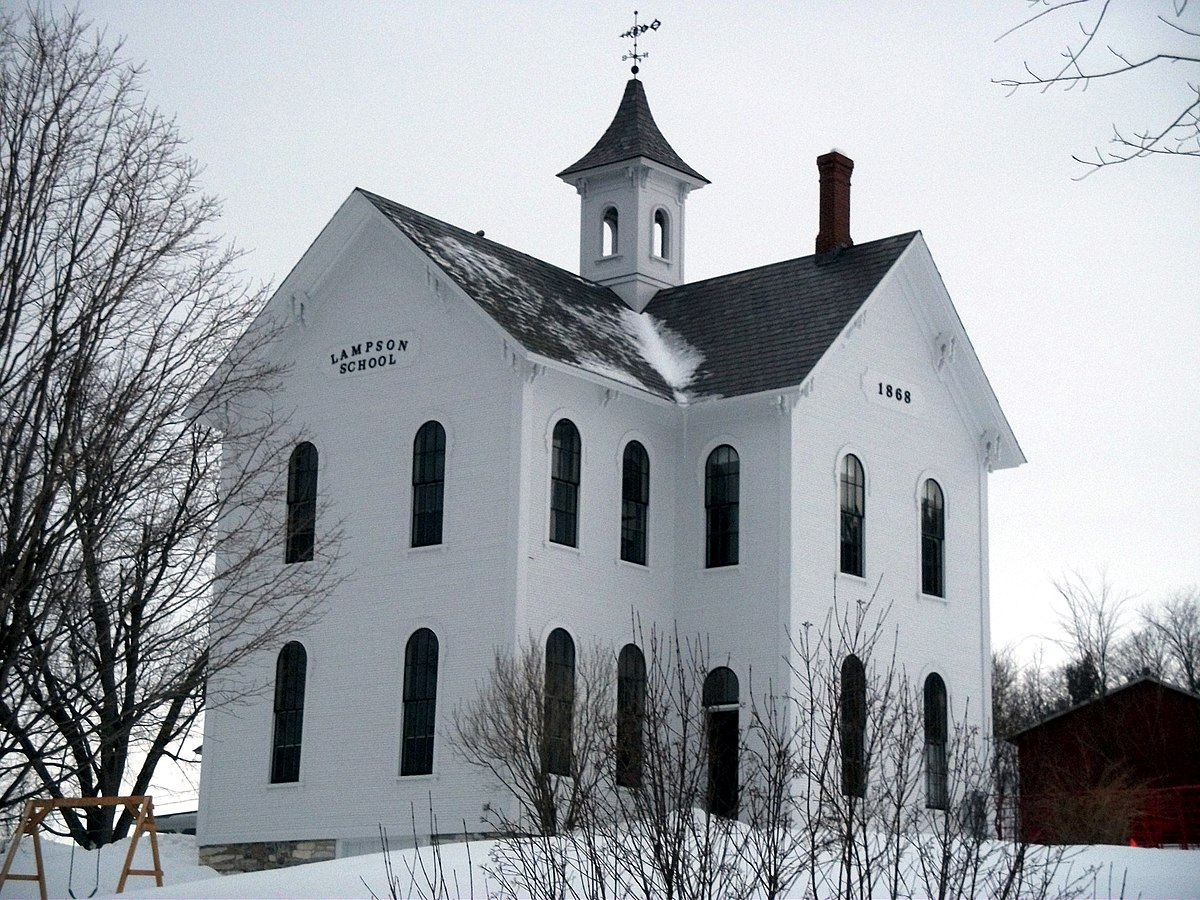 Lampson School, 1868.