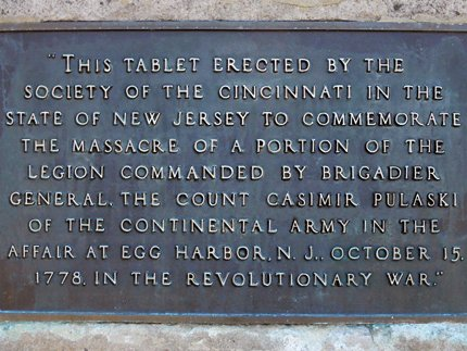 Little Egg Harbor Massacre Plaque