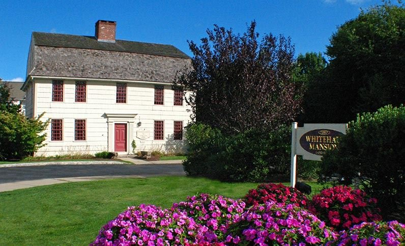Whitehall Mansion, which is now a bed and breakfast, was built in the 1770s.