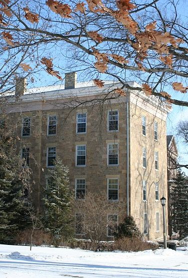 North Hall became a National Historic Landmark in 1965.