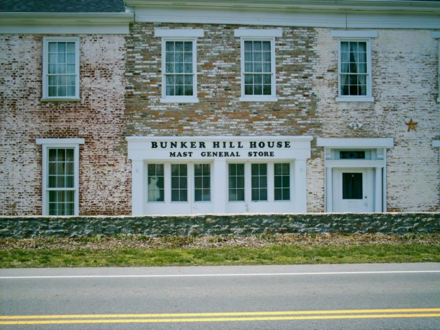 The Mast General Store was established to attract the growing population in this area.