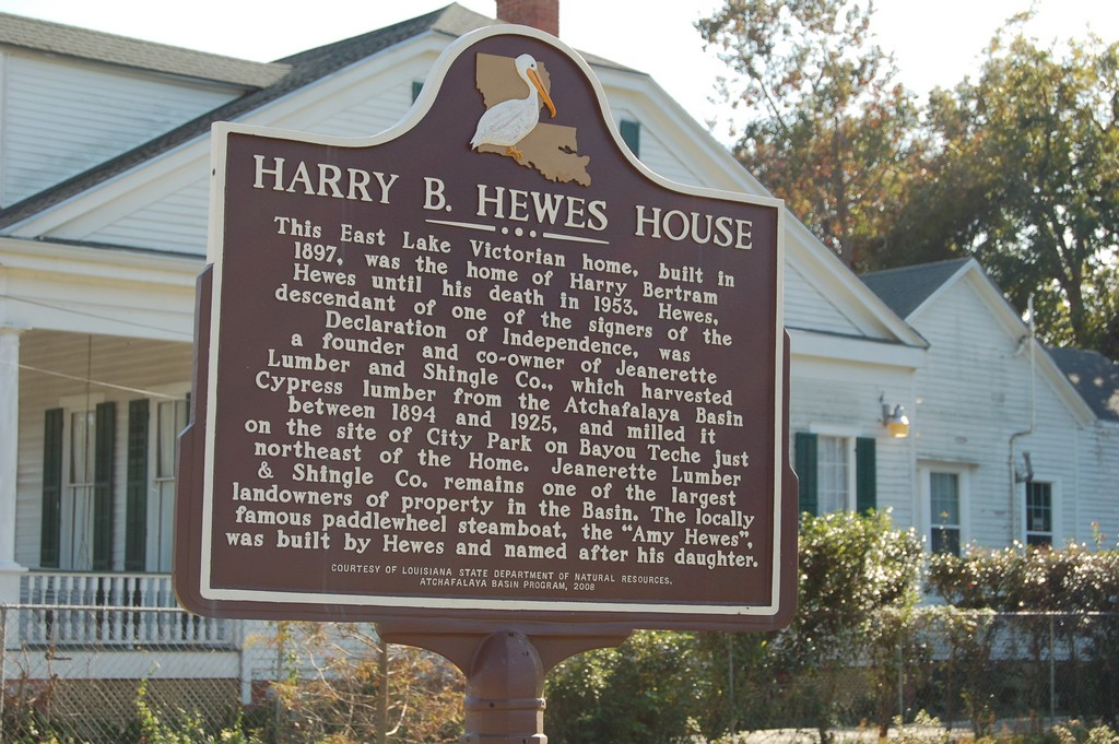 Harry B. Hewes House Landmark