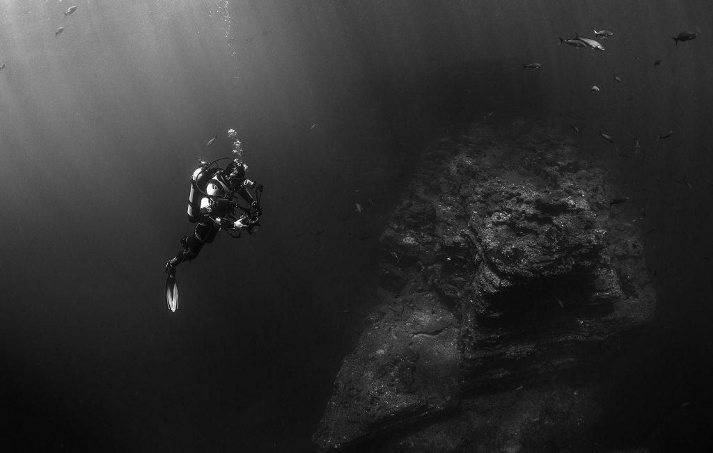 Diver in Devils Den (3)