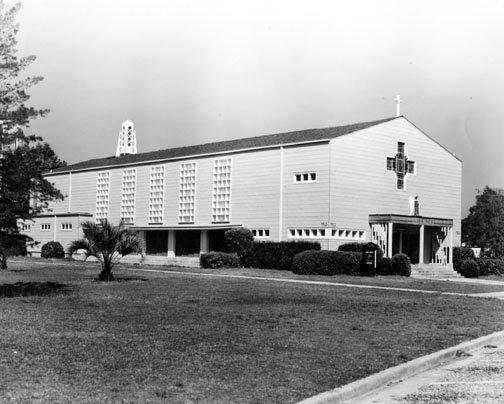 St. Edwards Chapel after construction