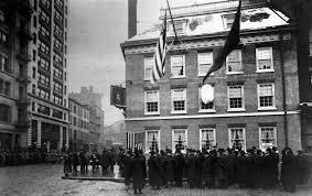 Fraunces Tavern opening day 1907