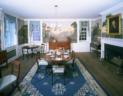 The Clinton Room exhibit