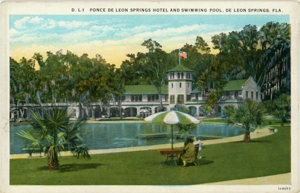 Ponce De Leon Springs Hotel & Swimming Pool (1928)