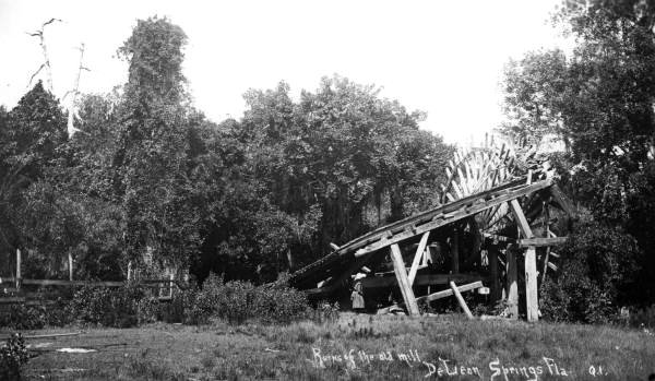 Ruins Of The Old Mill (1900?)