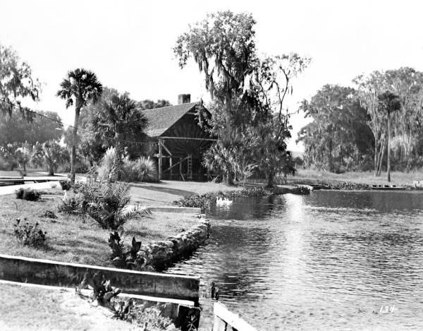 View Of The Water Wheel (1930)