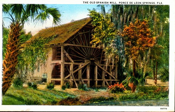 The Old Spanish Mill (1924)