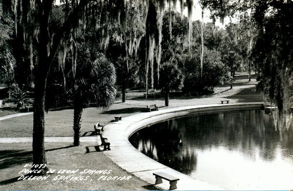 Ponce De Leon Springs Swimming Area (1940s?)