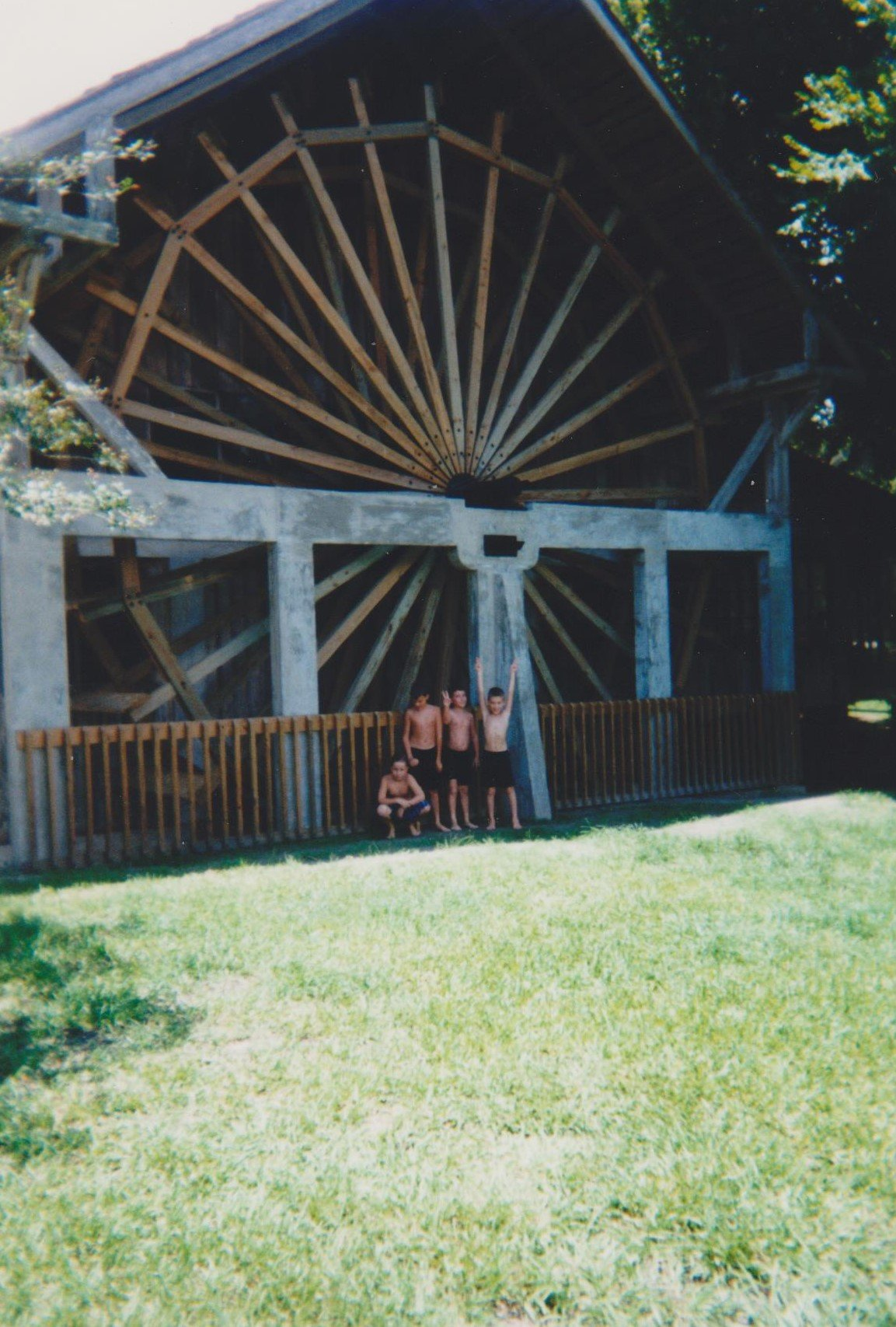 Family & Friends At Old Sugar Mill (2000s)