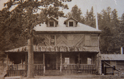 Original Wind River Lodge- 1905
