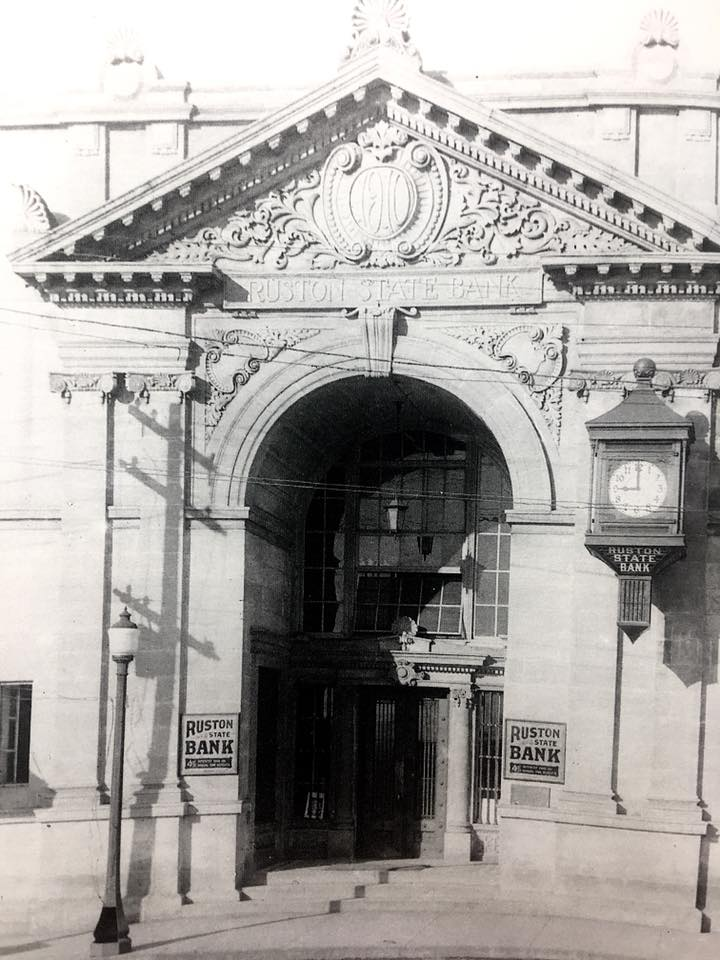 Ruston State Bank, 1920s