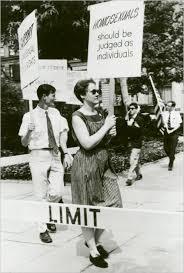 Barbara Gittings at a Philadelphia Reminder