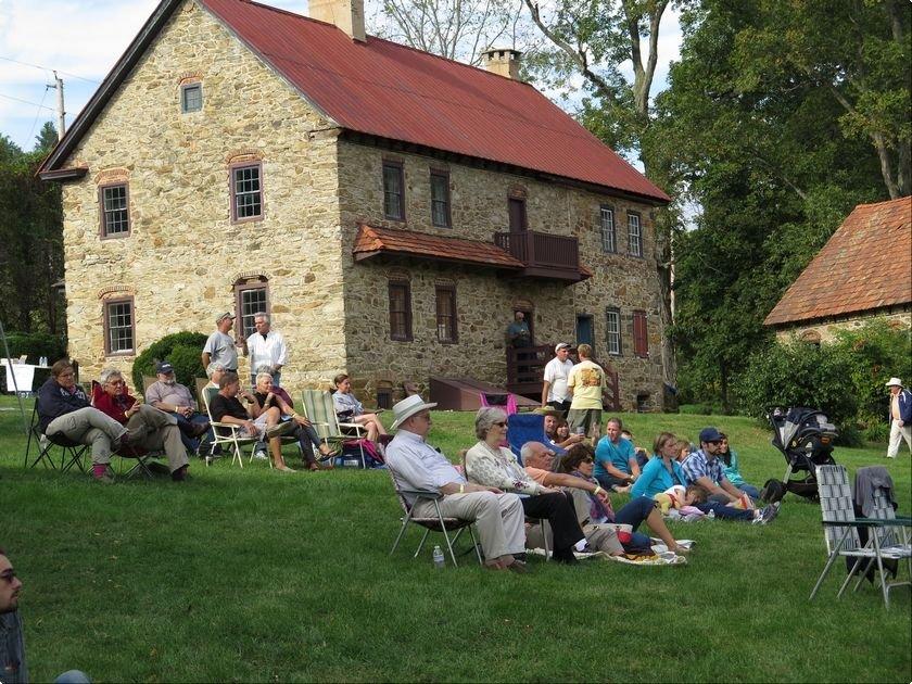 People enjoy the Keim Music Fest fundraiser.