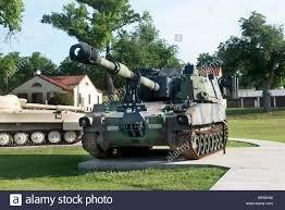 A view of an artillery piece at The U.S. Army Field Artillery Museum.