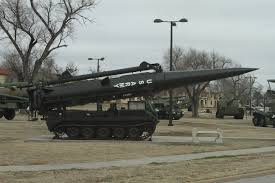 Air Defense piece at The U.S. Army Field Artillery Museum.