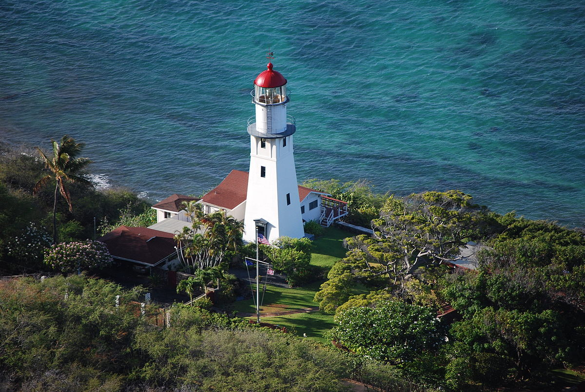 Diamond Head Lighthouse, Hawaii.