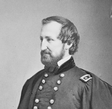 At the age of 19, Union General William Starke Rosecrans entered West Point and graduated 5th in his class. While he was at West Point he got the nickname 'Rosey', that was used lovingly by his troops during the Civil War.
