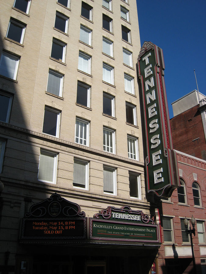 The Tennessee Theatre in 2007.