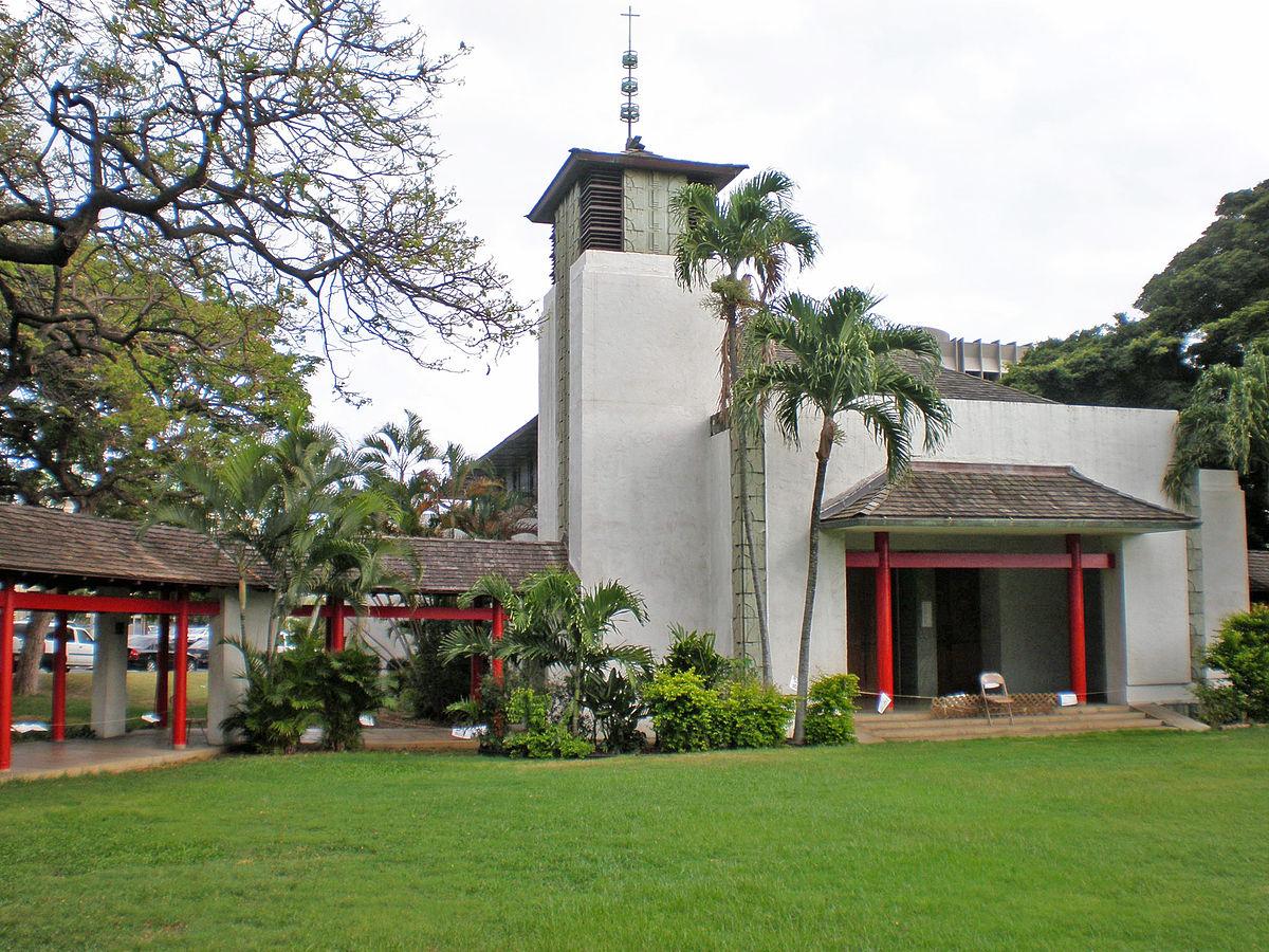 Church of the Crossroads (Built, 1935) in Honolulu, HI.
