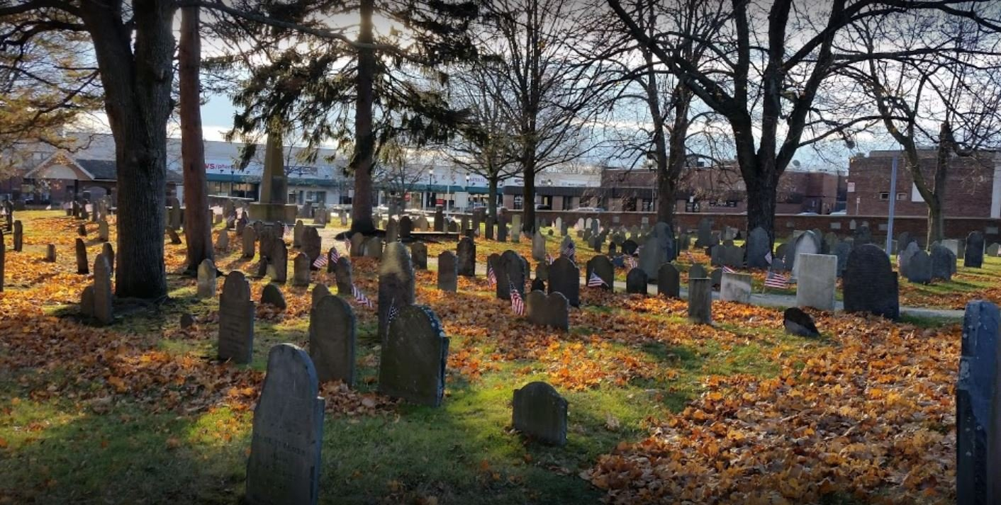 The Salem Street Burying Ground (photo by Julius Long)