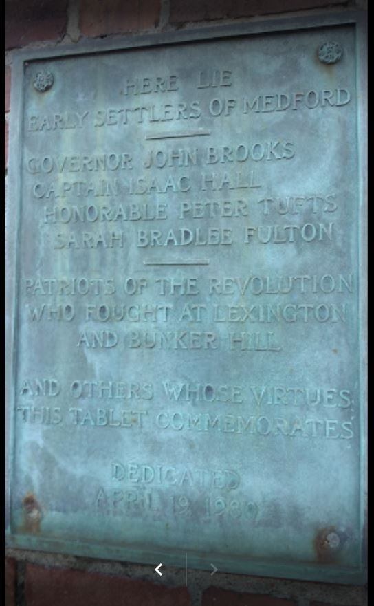 1930 plaque at entrance gate (photo by Julius Long)